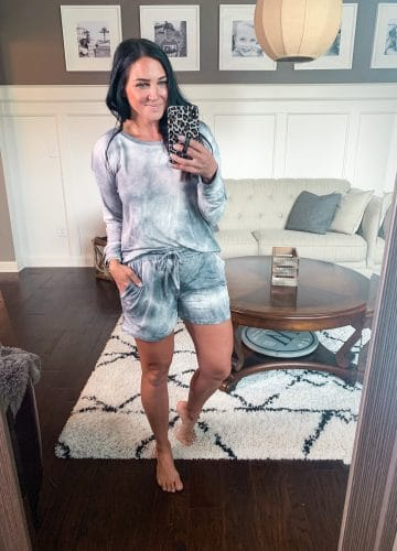 Tie Dye Pajama set, Amazon finds, Amazon pajamas, Stilettos and Diapers, Molly Wey