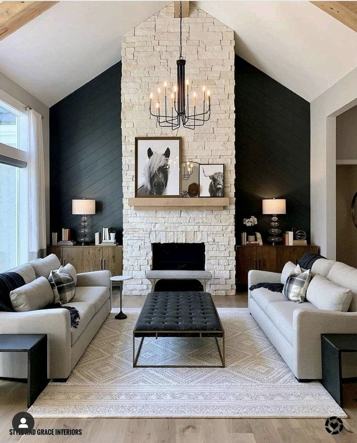 Living Room design, new home build, new construction, home inspiration, Stilettos and Diapers