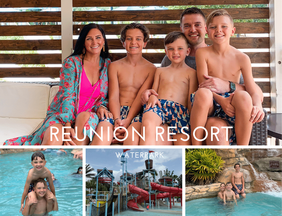 Reunion Resort Waterpark, Stilettos and Diapers, Central Florida Travel, Kissimmee Trip