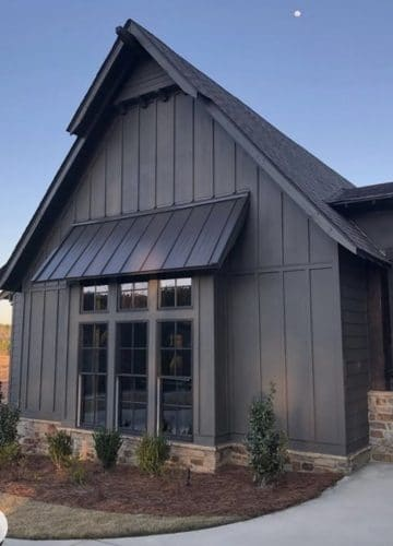 Home Decor, New construction, Dark house exterior, Stilettos and Diapers