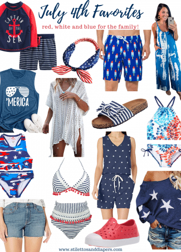 July 4th Fashion Favorites for the Family, Stilettos and Diapers