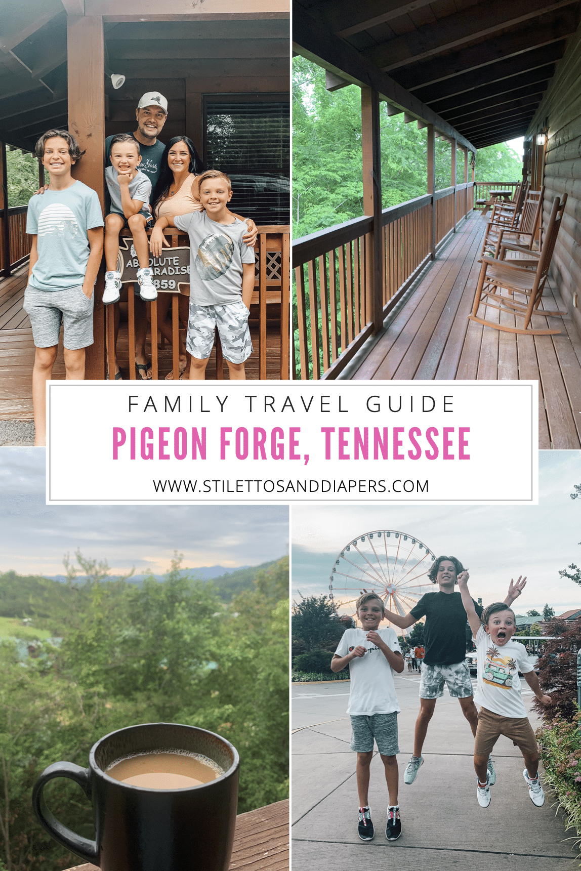Pigeon Forge Family Travel Guide, Stilettos and Diapers