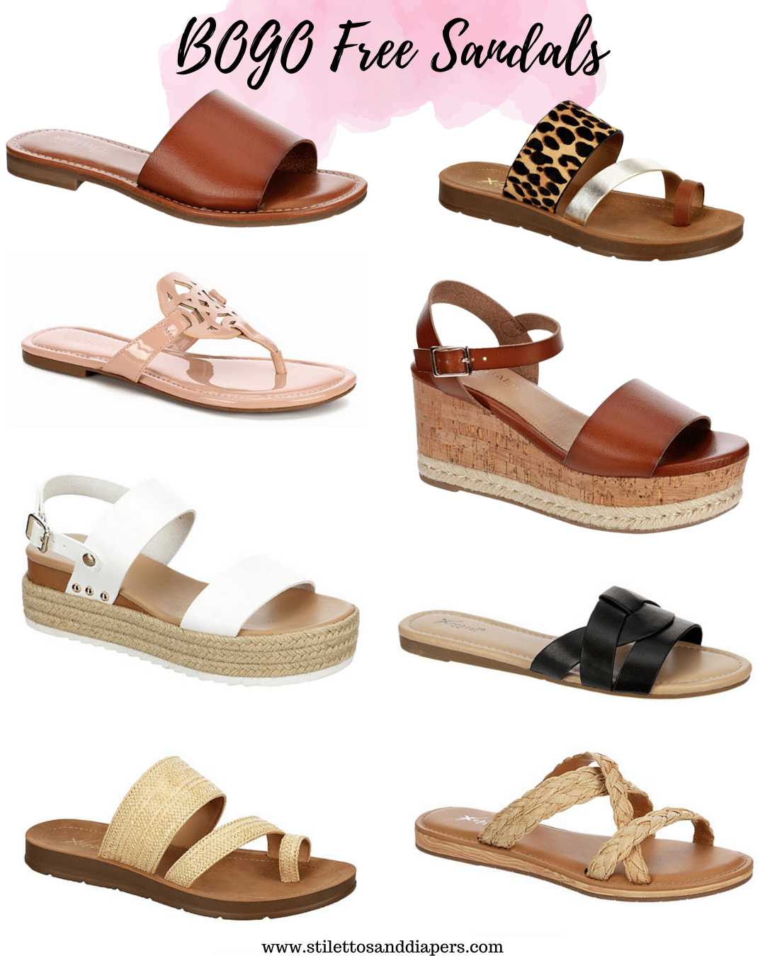 BOGO Free Sandals for the family