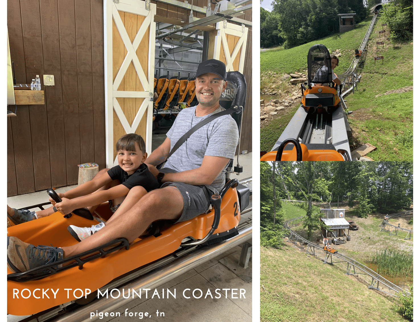 Rocky Top Mountain Coaster, Pigeon Forge Family Travel Guide, Stilettos and Diapers