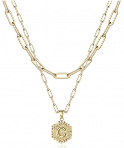 Gift ides, Monogram necklace, Prime day deals,