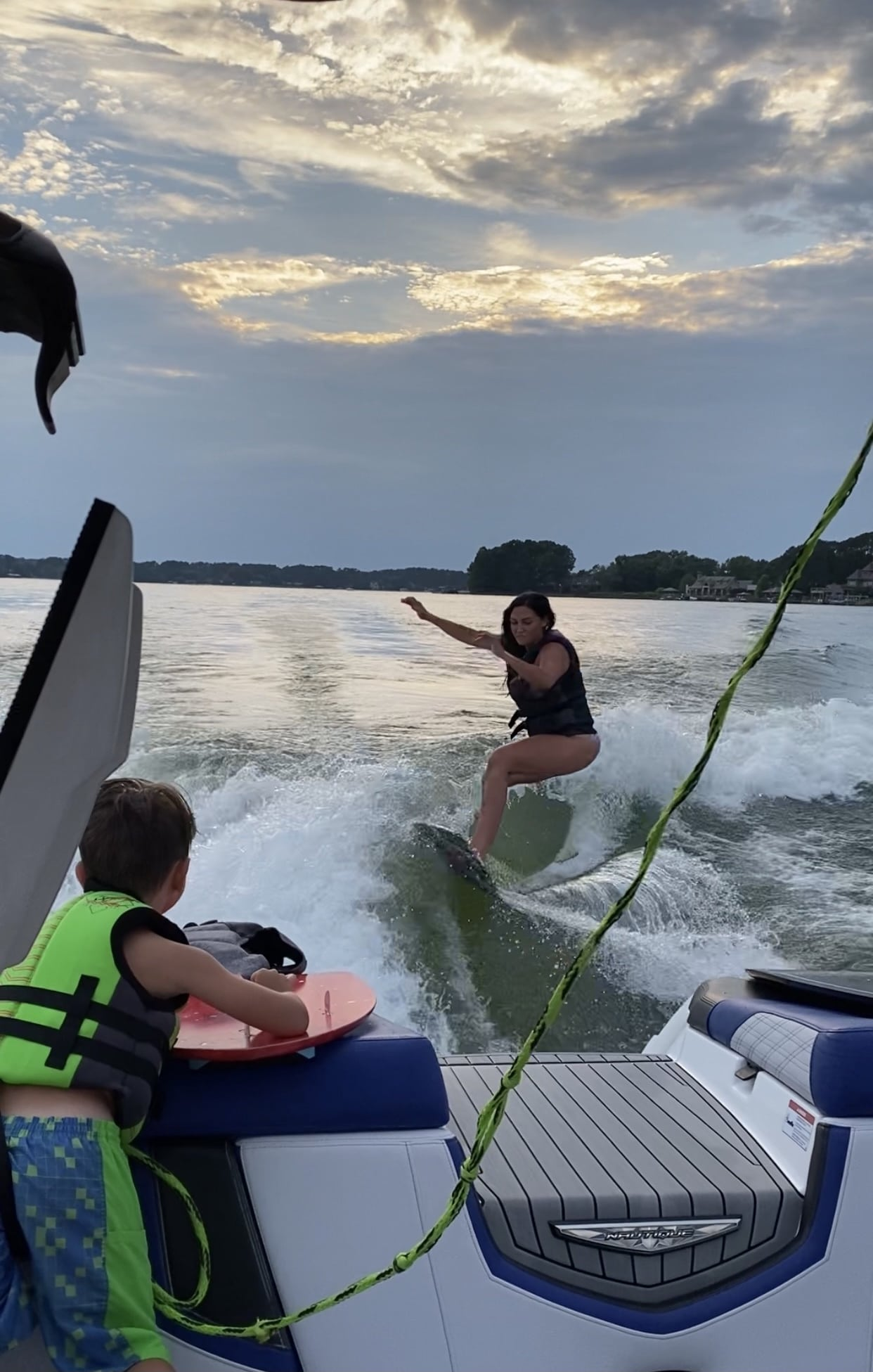 Ronix Surf Boards, Memorial Day Weekend, Summer Family Fun, Stilettos and Diapers, Lake Norman,