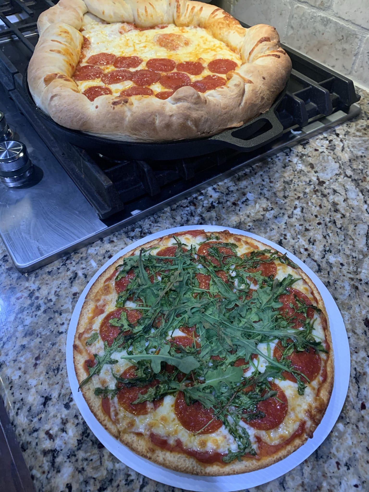 Homemade pizza, easy pizza dough, Cauliflower pizza, Stilettos and diapers