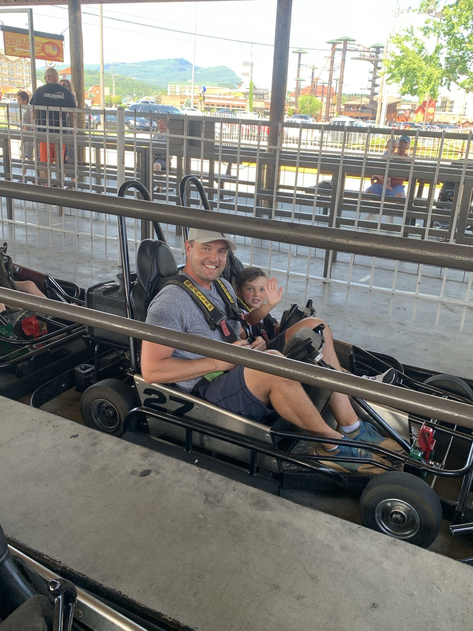 The Track, Pigeon Forge Family Travel Guide, Stilettos and Diapers