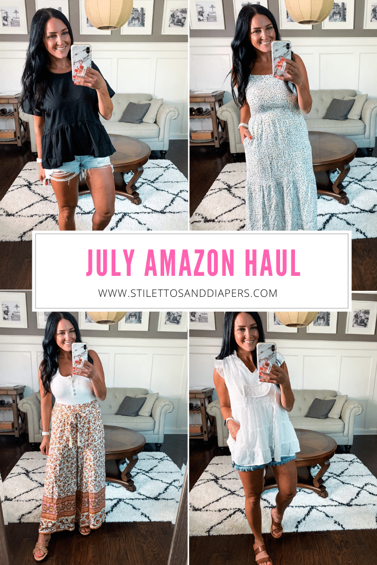 July Amazon Haul, Amazon Summer Finds, Stilettos and Diapers, Molly Wey