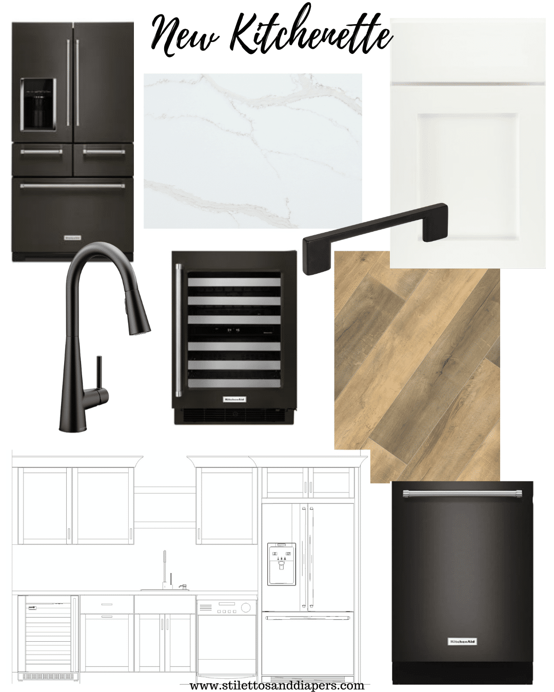 New House Kitchen Inspiration, New Home Build, Stilettos and Diapers
