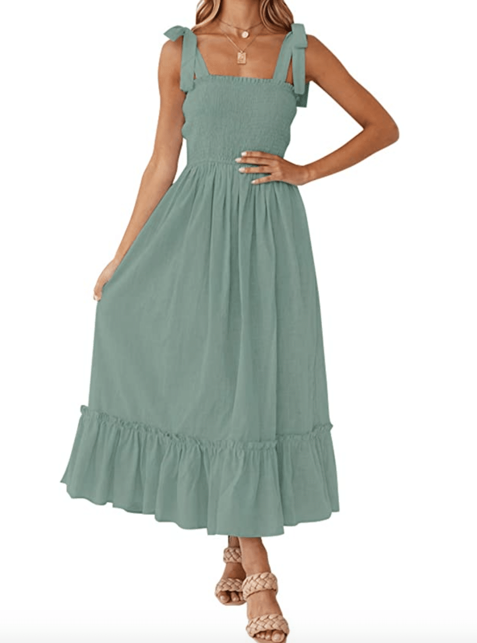 Amazon Deal of the day, amazon fashion, Stilettos and Diapers, Summer maxi dress