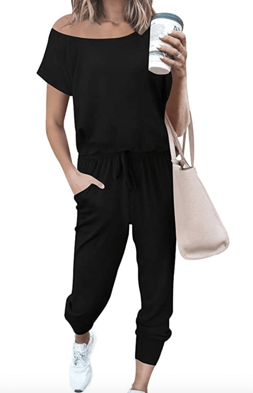 Summer to fall jumpsuit, comfy jumpsuit, Amazon Deal of the day, amazon fashion, Stilettos and Diapers,
