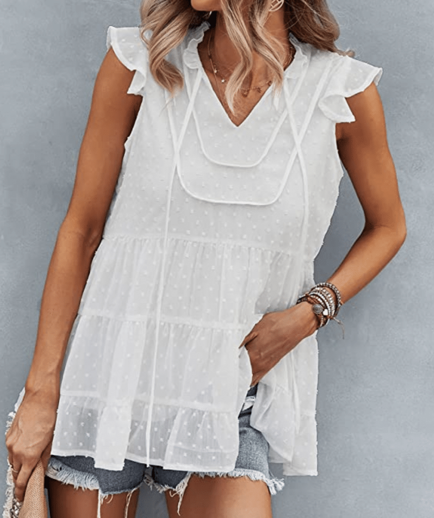 Amazon Deal of the day, Stilettos and Diapers, Summer Blouse