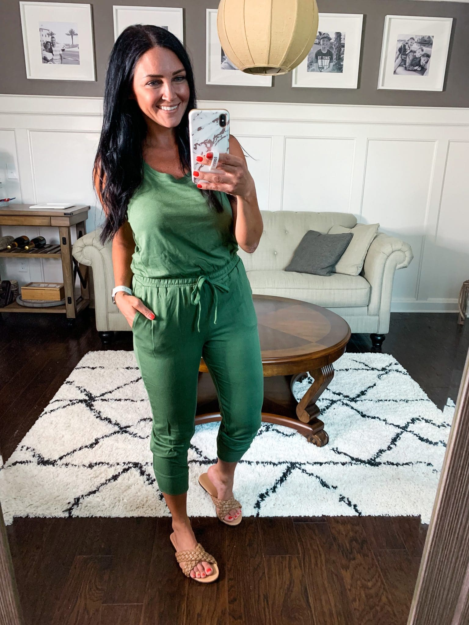 Jogger jumpsuit, Amazon Summer Style, Stilettos and Diapers, Molly Wey