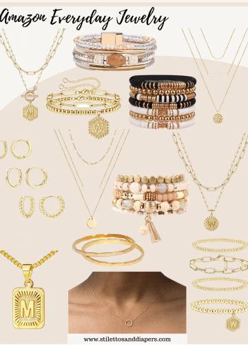 Amazon Everyday Jewelry Under $20, Stilettos and Diapers