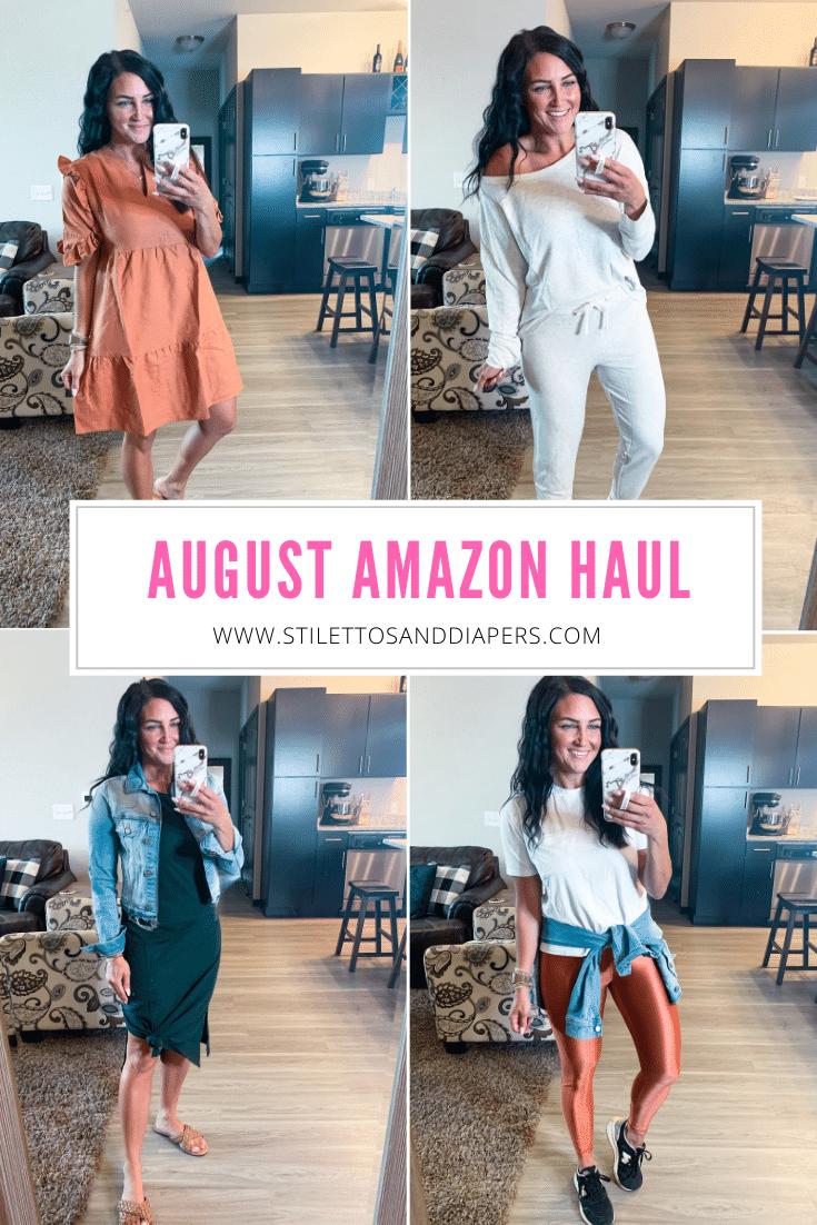 August Amazon Haul, #founditonamazon, Stilettos and Diapers