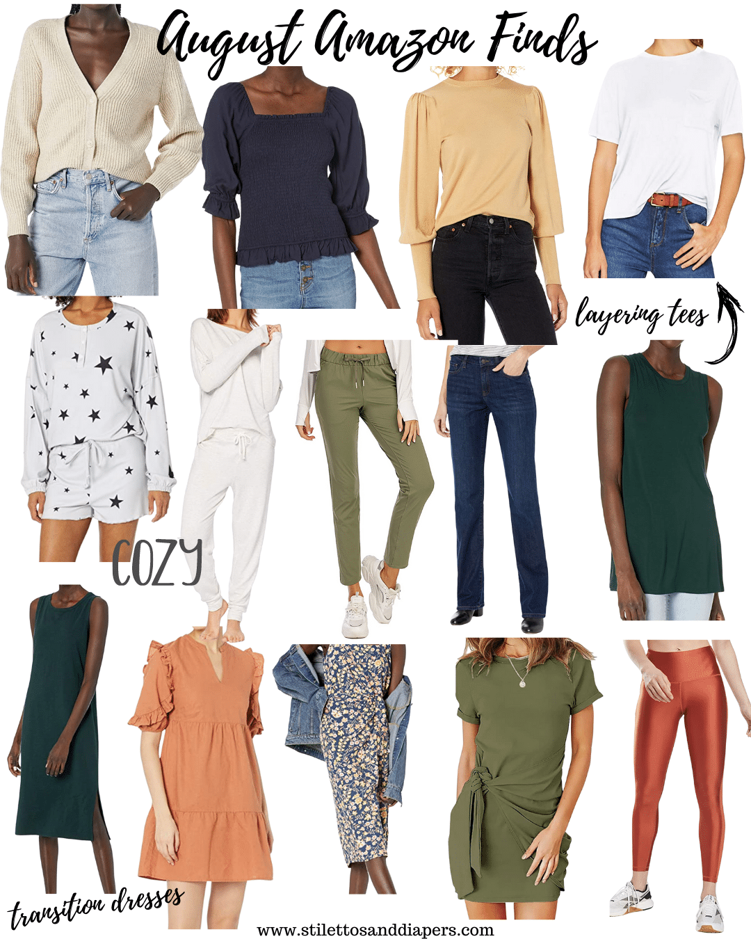 August Amazon Finds, Stilettos and Diapers, Best amazon fashion
