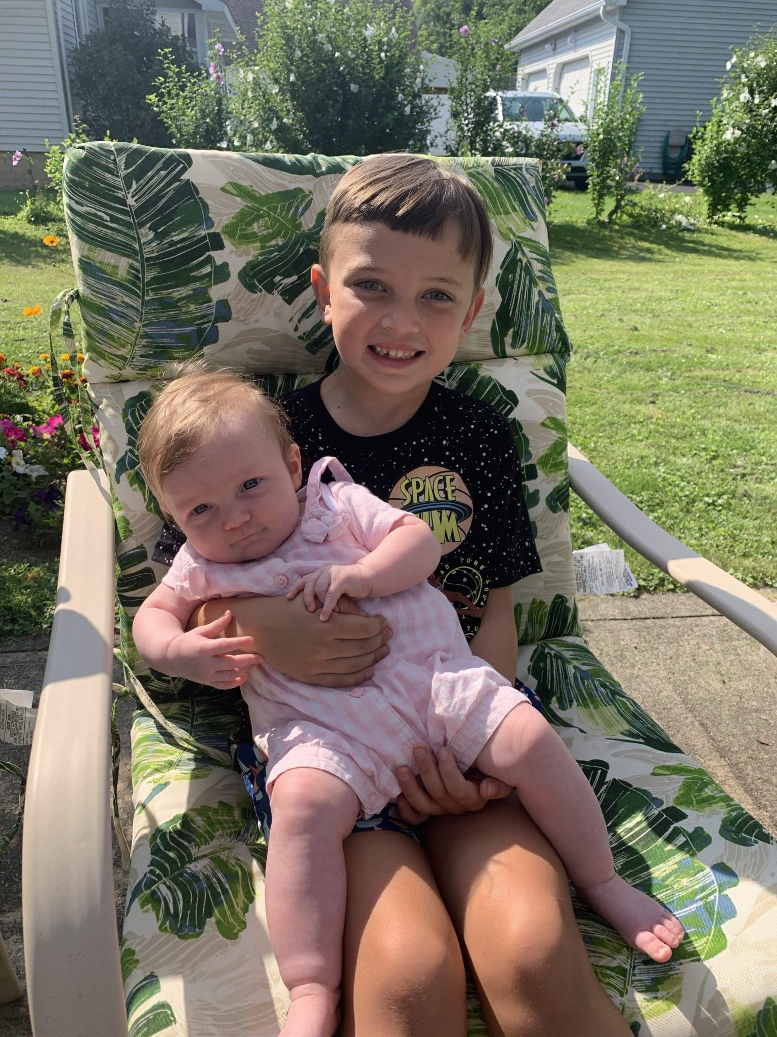 Upstate New York Summer Trip, stilettos and diapers, cousin love