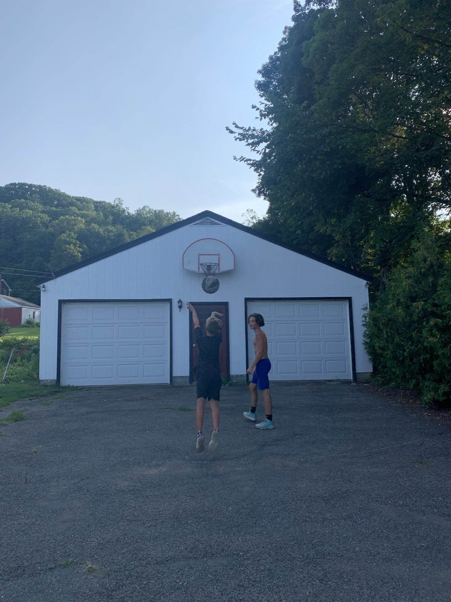 Upstate New York Summer Trip, stilettos and diapers