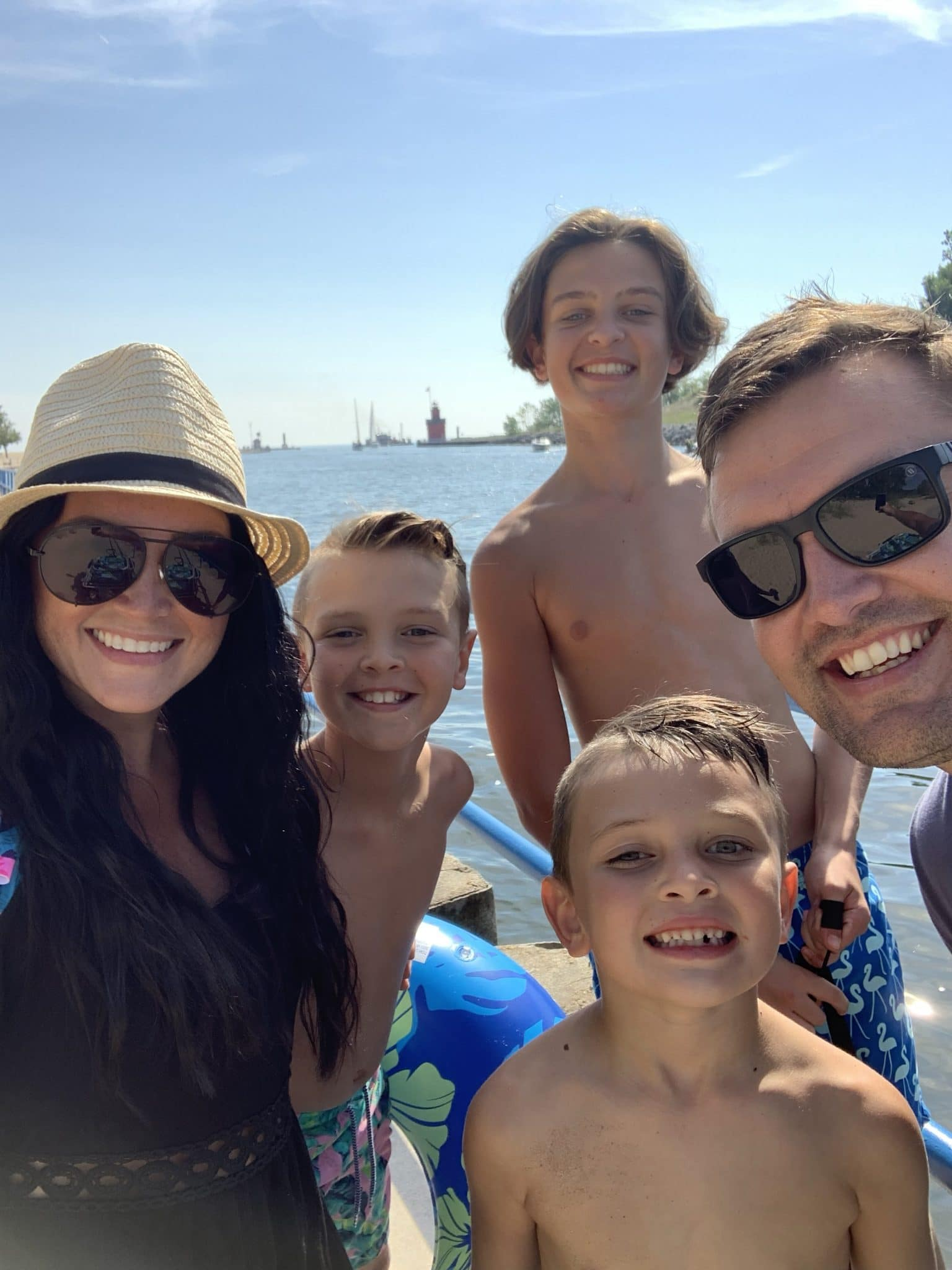 Moving, family adventures, Lake Michigan, Holland Michigan beach, Stilettos and Diapers