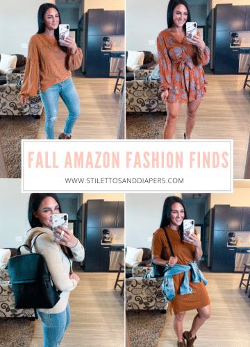 Fall Amazon Fashion Finds, Stilettos and Diapers, #founditonamazon