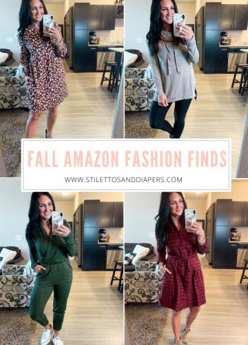 Fall Amazon Fashion Finds, Fall amazon fashion, #founditonamazon, Stilettos and Diapers
