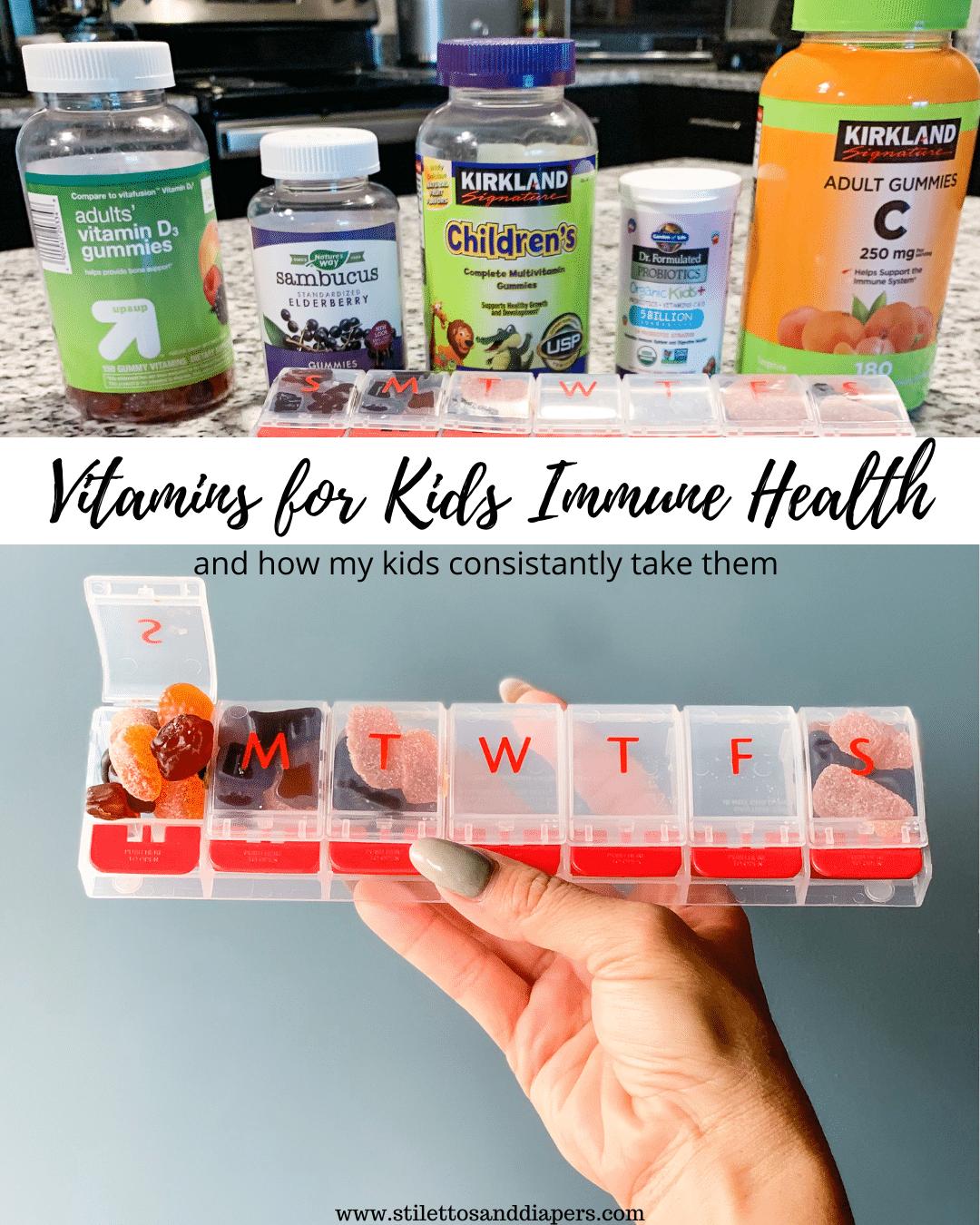 My Kids Daily Vitamins for Immune Health