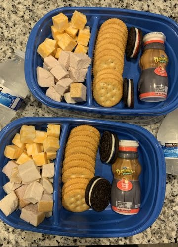 DIY Lunchable, Back to school kid lunch ideas, Stilettos and Diapers