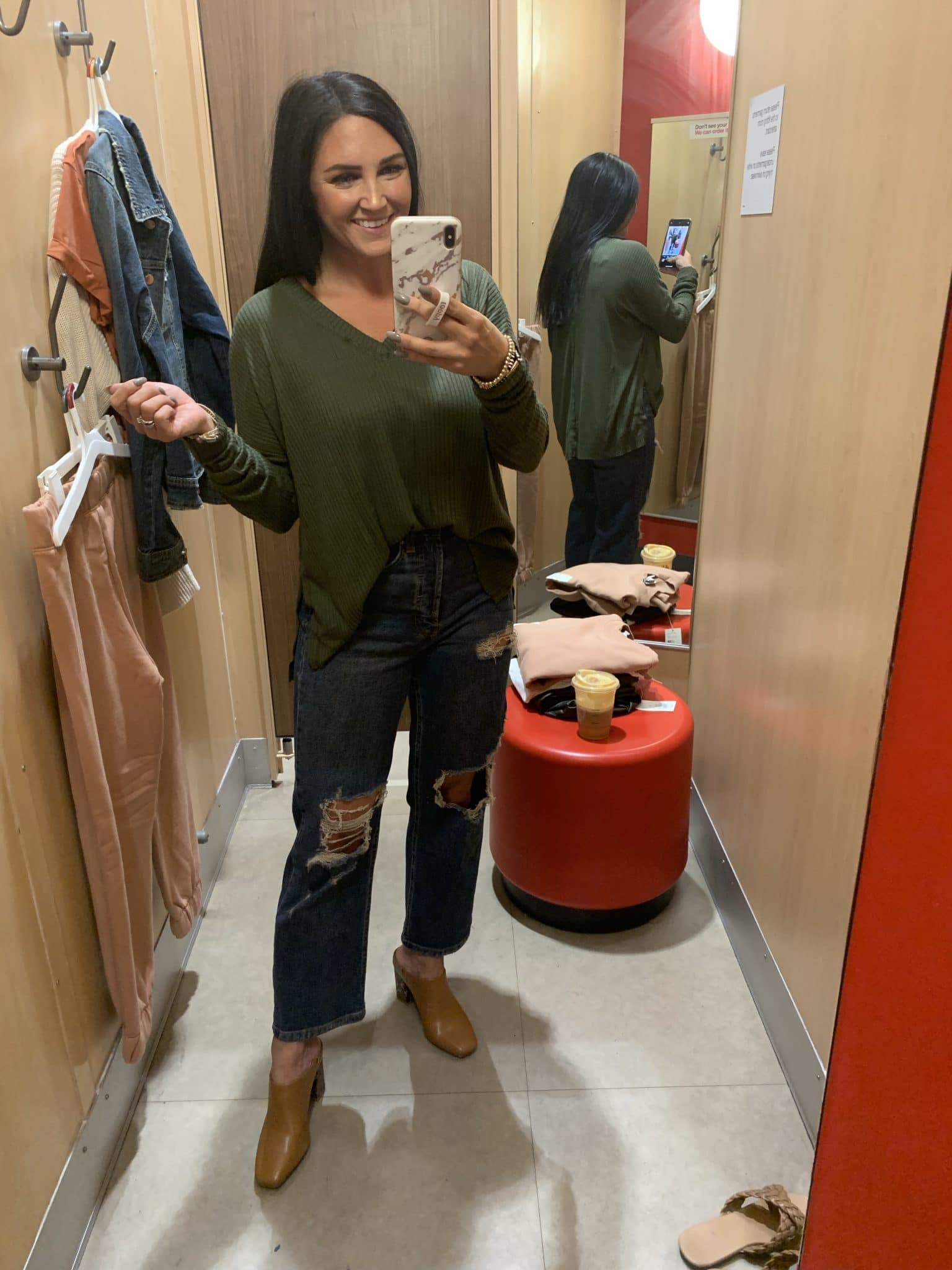 Best ever thermal top, Target Fall Haul, Best Target finds, Stilettos and Diapers