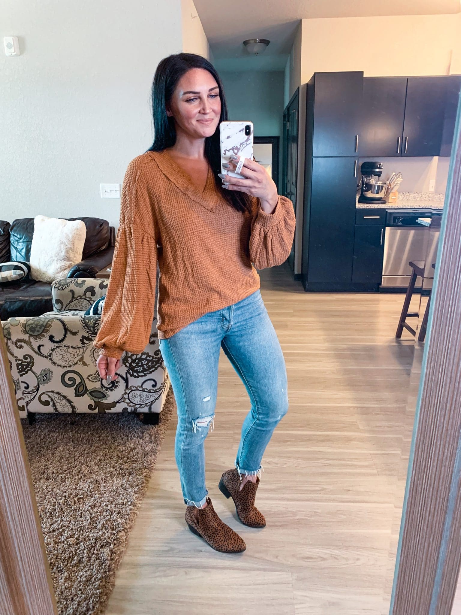 fall thermal top, Amazon Fall Finds, Fall romper, Stilettos and diapers, Molly Wey