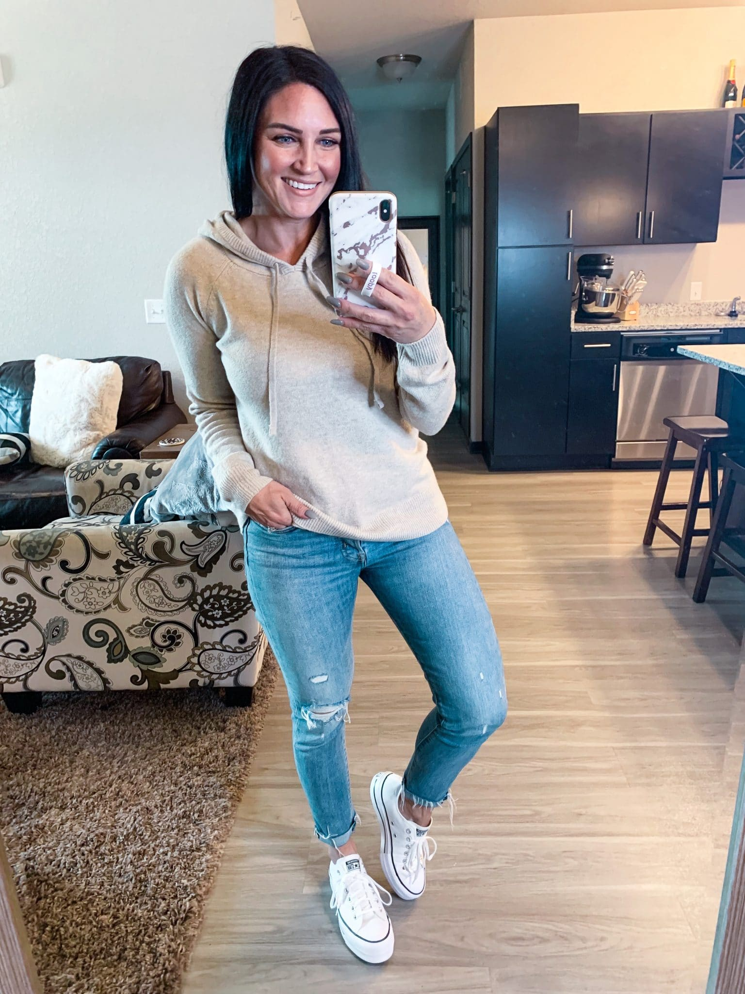 Sweater hoodie, Amazon Fall Finds, Stilettos and diapers, Molly Wey