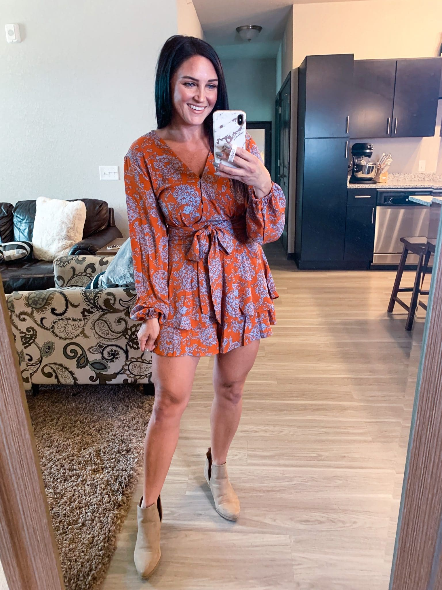 Amazon Fall Finds, Fall romper, Stilettos and diapers, Molly Wey