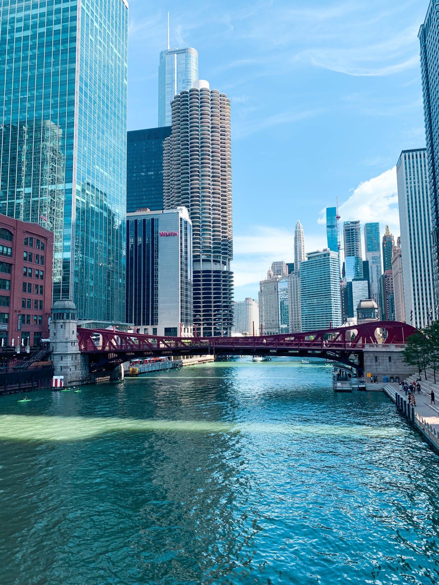 Chicago Riverwalk, Chicago family travel, Stilettos and Diapers