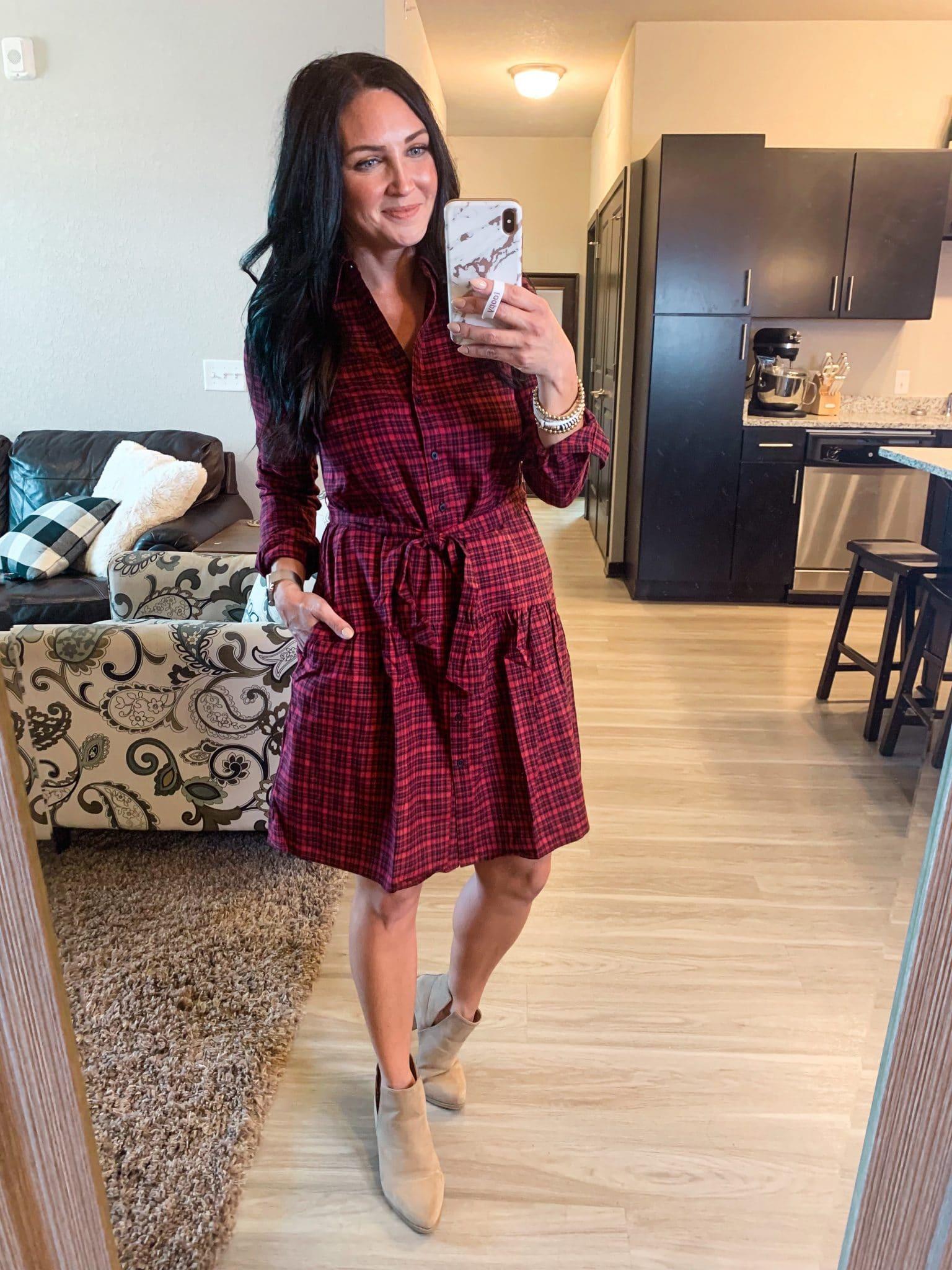 Fall Dress Amazon, Fall Family picture outfit, Founditonamazon, Stilettos and Diapers