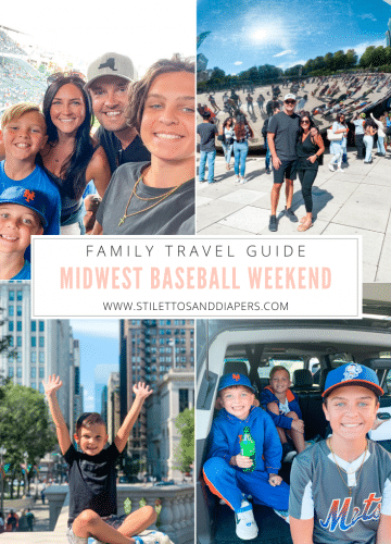 Midwest Family Baseball Weekend, Stilettos and Diapers